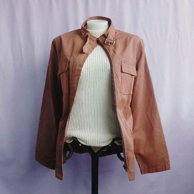 nutmeg brown jacket