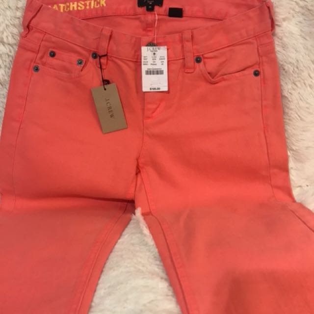 NWT J.CREW matchstick jeans.  Size: 25