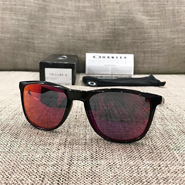 e845f1f163 Oakley™ TRILLBE X (Polished Black Ruby Iridium)