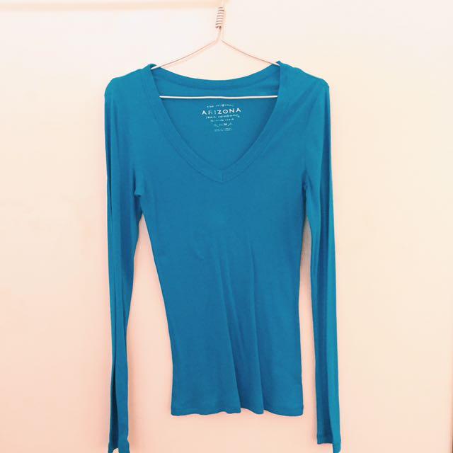 Orginal Arizona Blue Long Sleeves Top