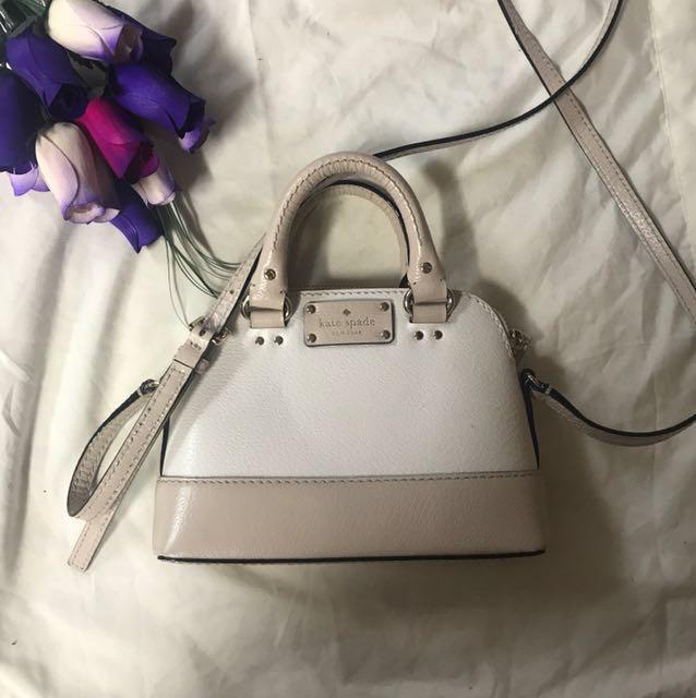 ORIGINAL Kate Spade mini long strap bag with small handles *Price Negotiable*