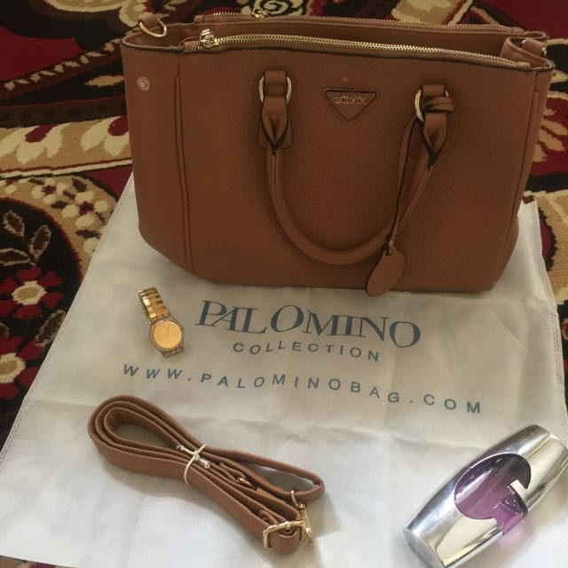 Palomino chocolate bag