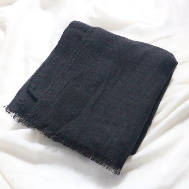 pashmina (black)