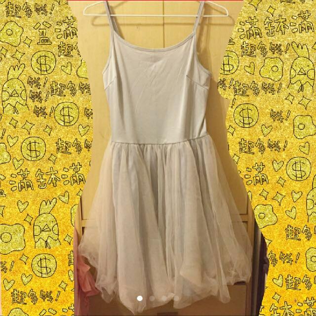 pazzo法式連身紗裙