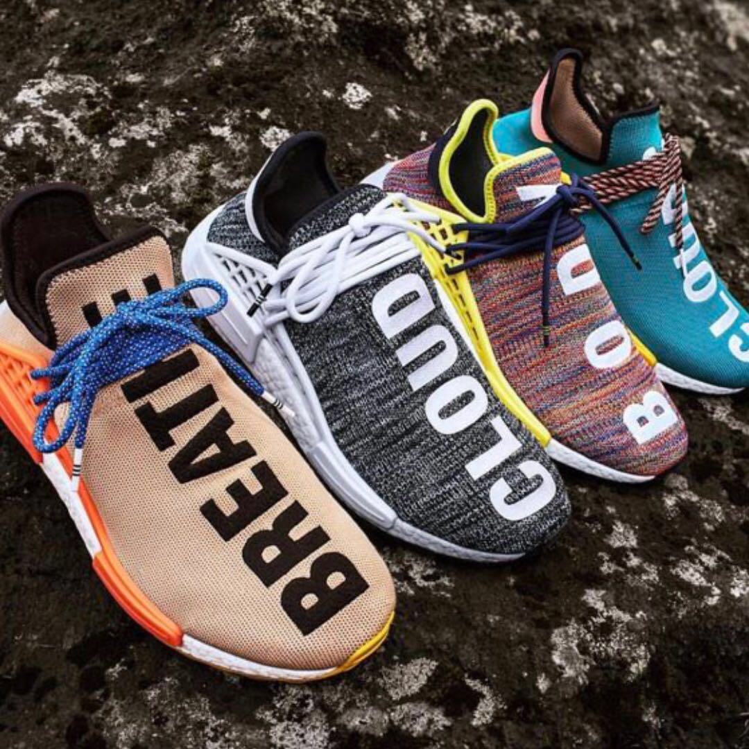 60676e5cf406c Pharrell William x Adidas NMD Human Race Trail Hiking Pack Preorder ...