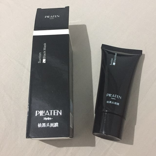 Pilaten Black Suction Mask