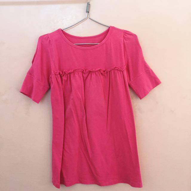 Pink 3/4 Top