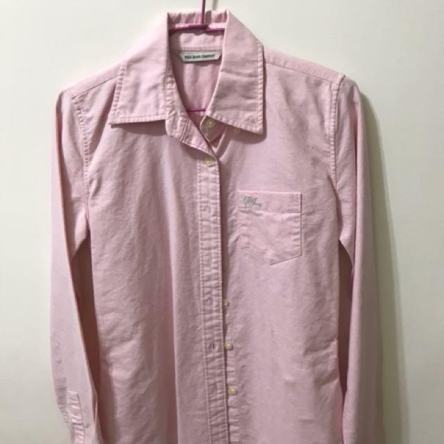 Polo 粉紅襯衫