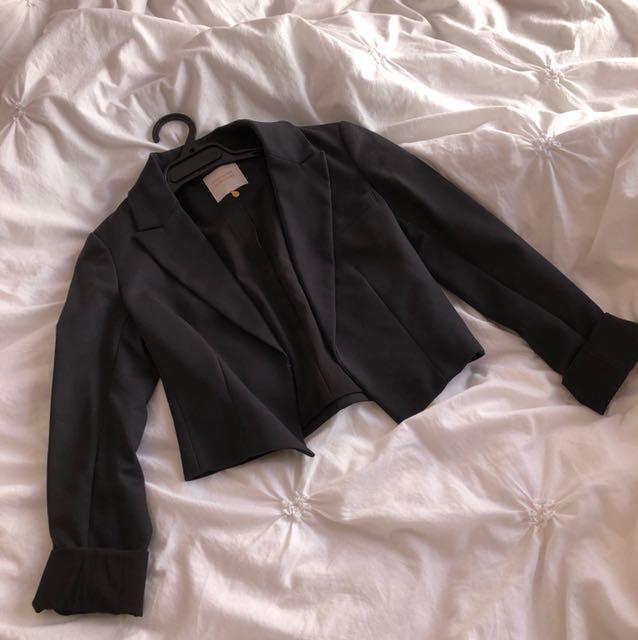 Portman Cropped Blazer