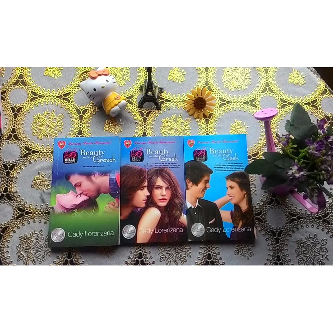 Precious Hearts Romances - PHR - Belle Trilogy by Cady Lorenzana
