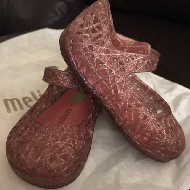 Preloved Mini Melissa shoes for sale