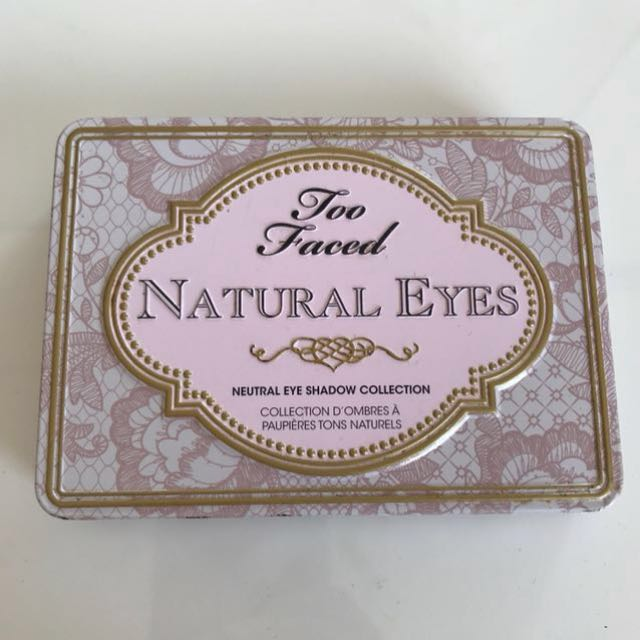 *PRICE DROP* Too Faced™ Natural Eyes Eyeshadow palette