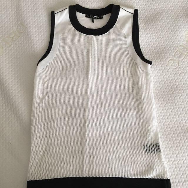 rag & bone/ jean sleeveless top XS