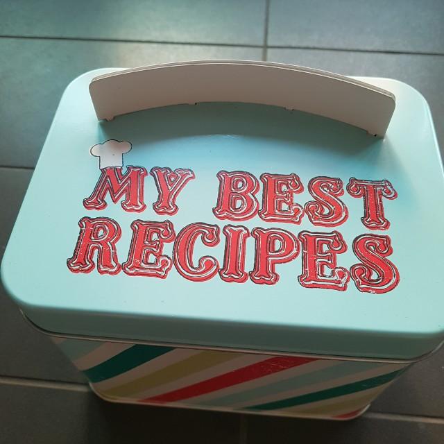 Recipe Tin Can (GIFT IDEA!)