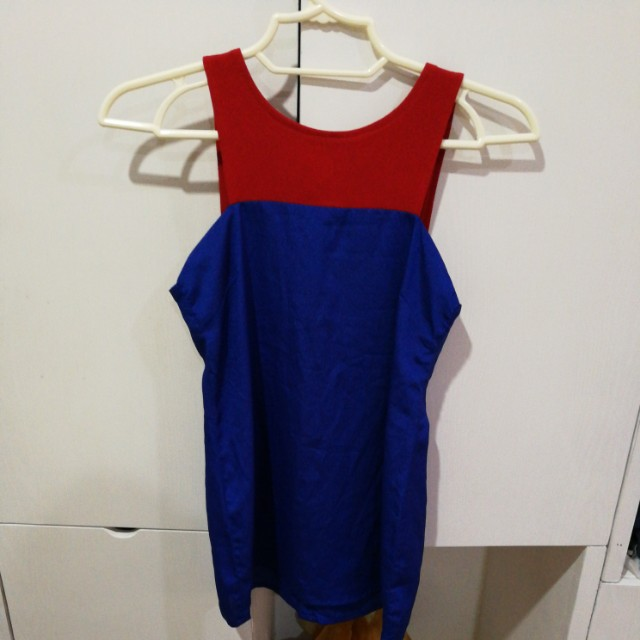 Red and Blue Top