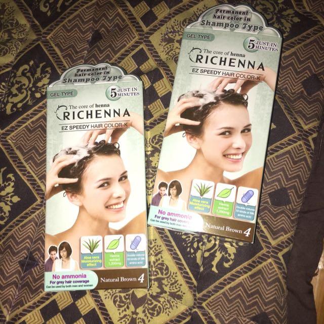 Richenna EZ Speedy Hair Color