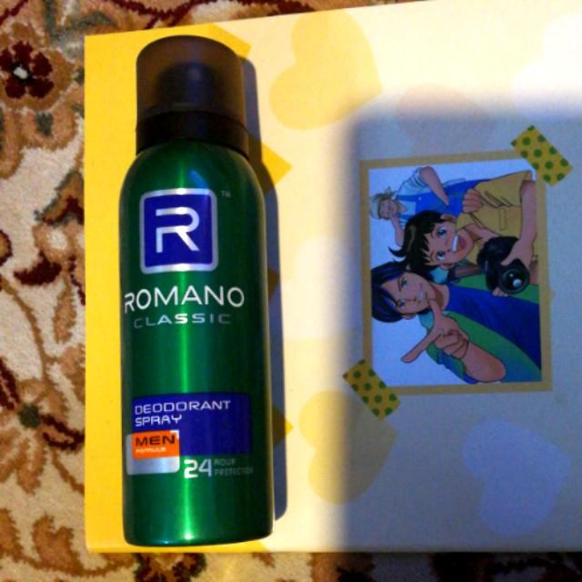 Romano classic deodorant