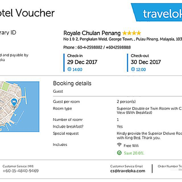 Royale chulan penang hotel voucher tickets vouchers attractions royale chulan penang hotel voucher tickets vouchers attractions tickets on carousell thecheapjerseys Image collections