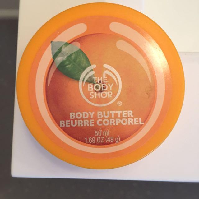 Satsuma Body Shop Body Butter