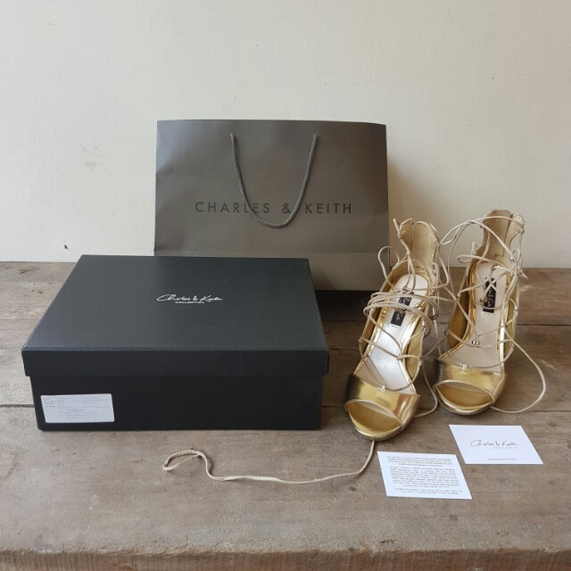 Sepatu High Heels Charles And Keith Original Like NEW Fesyen Wanita Di Carousell