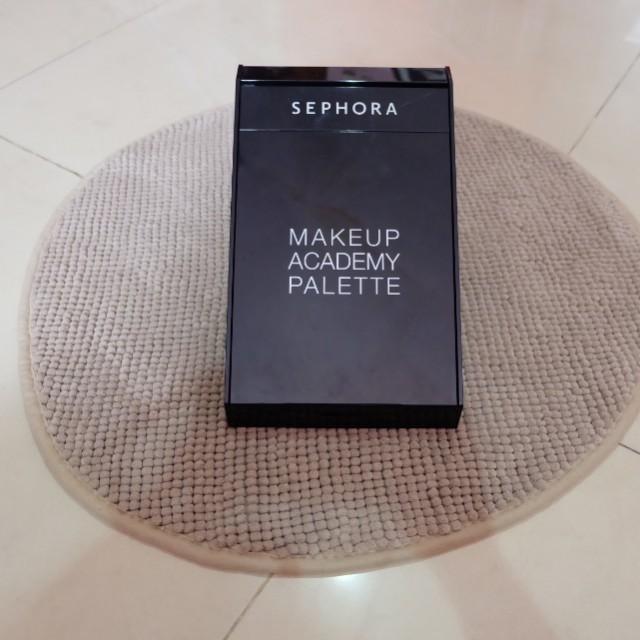 Sephore Make Up Academy Pallete