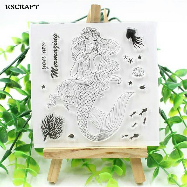 Silicone Stamp For Scrapbook