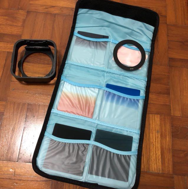 square filter set