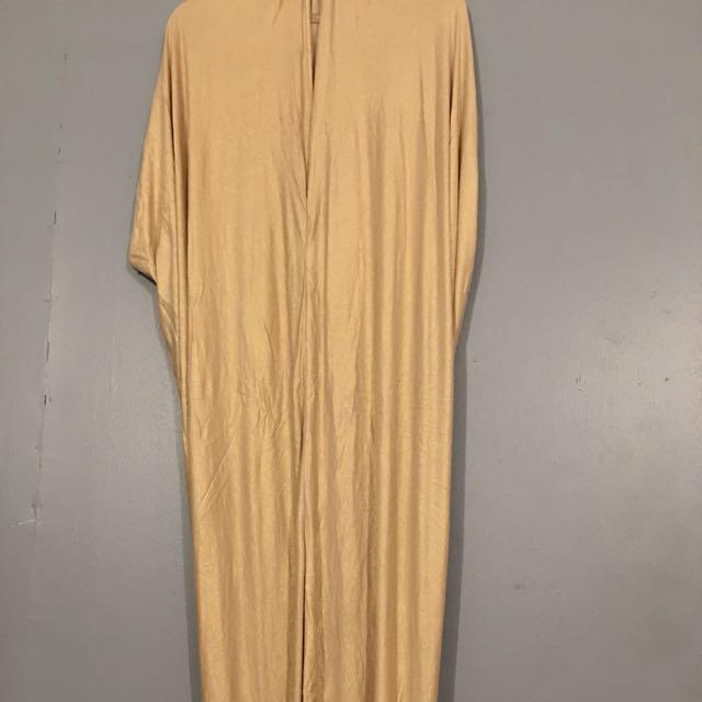 stella gold/beige caftan dress