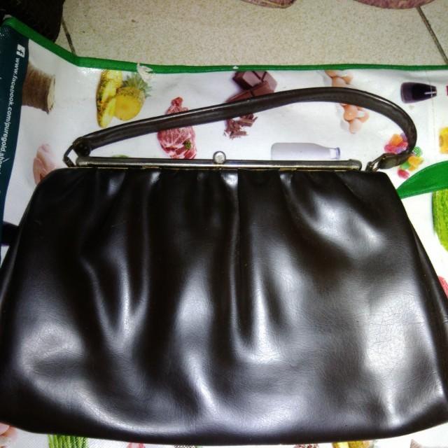 Synthetic Leather Handbag