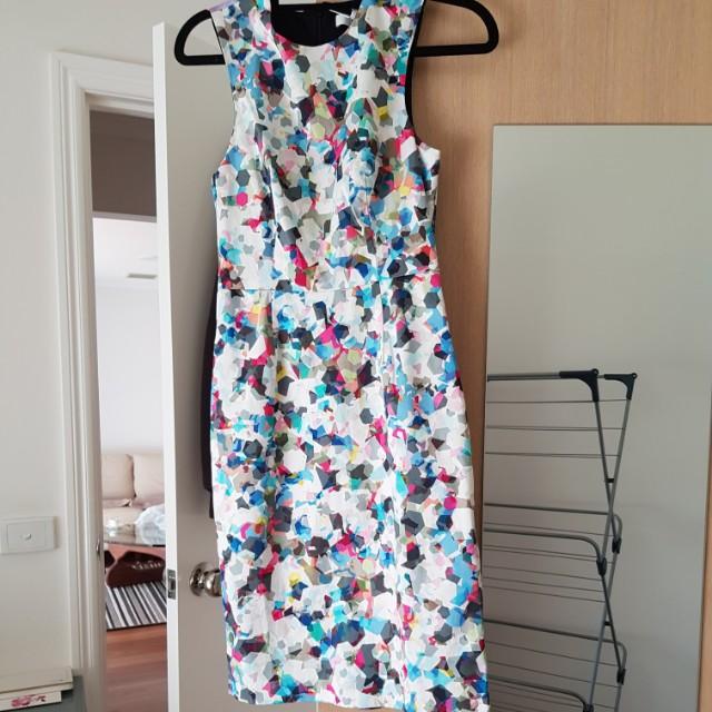 Tallulah 'Romantic Encounter mosaic cube' Size 6 dress - NEW