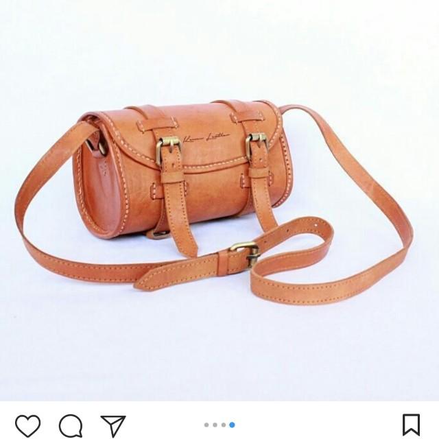 Tas kulit kenes leather