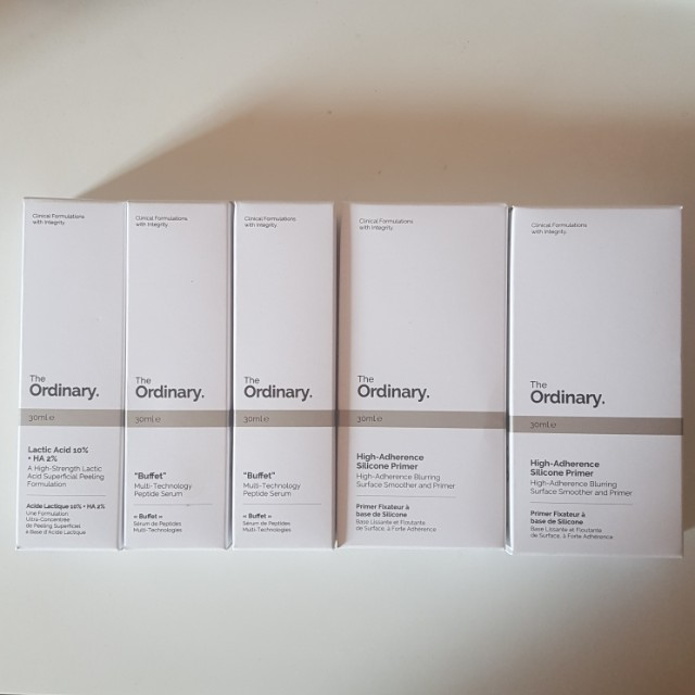 The Ordinary Readystock