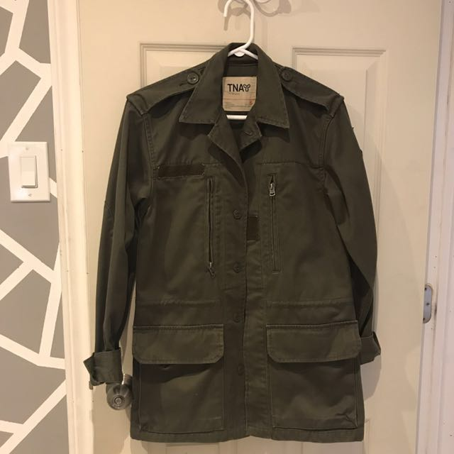 tna military jacket *fall and spring jacket* size small, condition 9/10