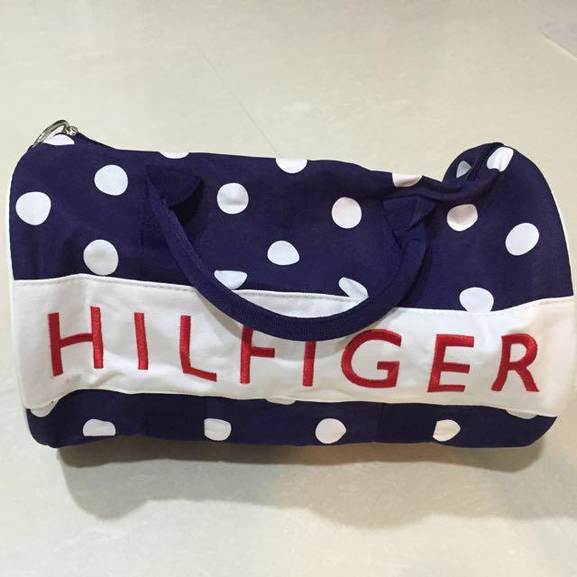 6a4dd03c2 Tommy Hilfiger Mini Duffle Bag, Women's Fashion, Bags & Wallets on Carousell