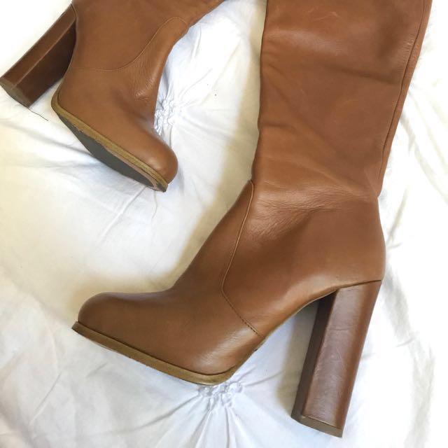 Tony Bianco Thigh High Boots - 'JASPER' / size 7