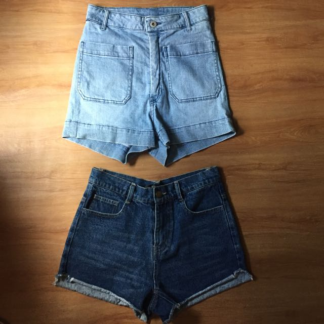 Top: H&M hw shorts Bottom: no brand hw shorts