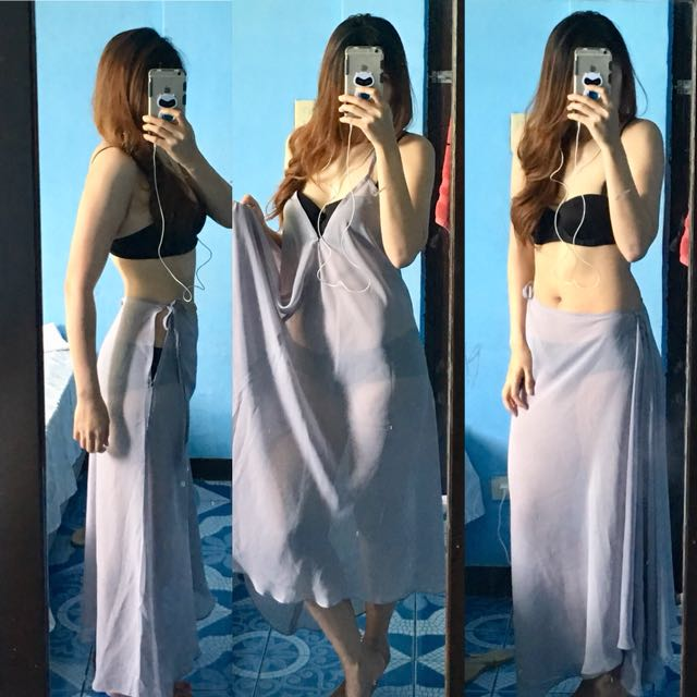 Two way swim wear cover up
