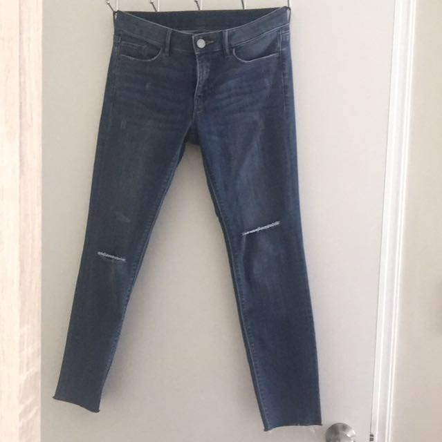Uniqlo Skinny Denim (used 1x, bought last week)