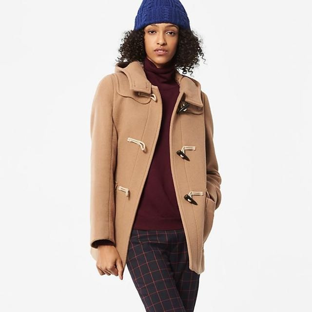 Uniqlo Wool Blend Duffle Coat Size Small