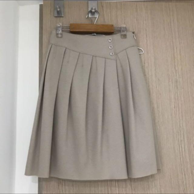 日本製UNTITLED 羊毛裙2