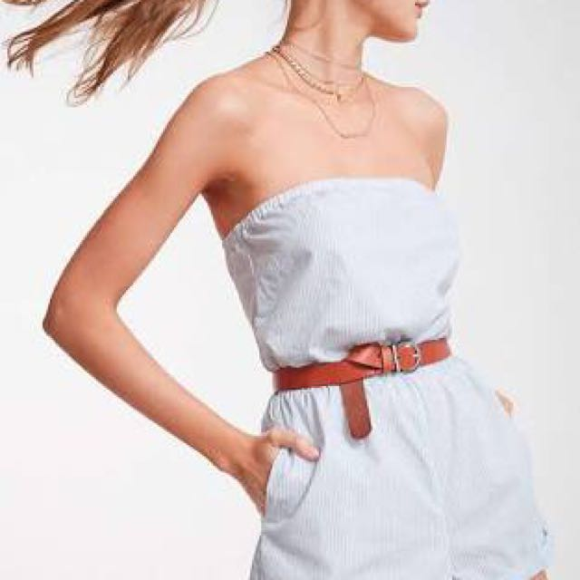 Urban outfitters blue summer romper