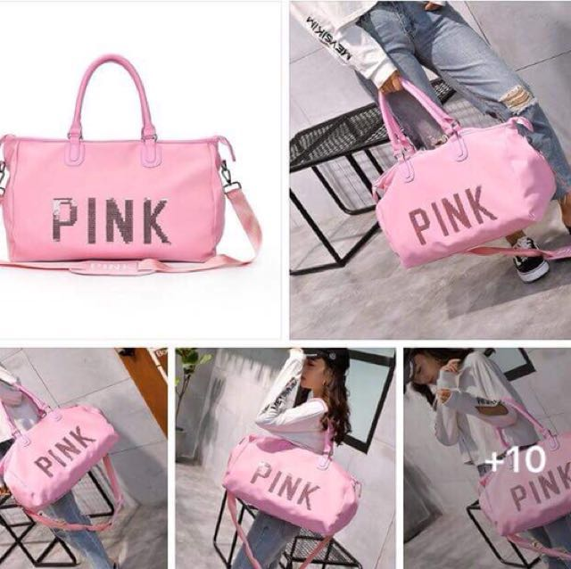 victorias secret duffle bag