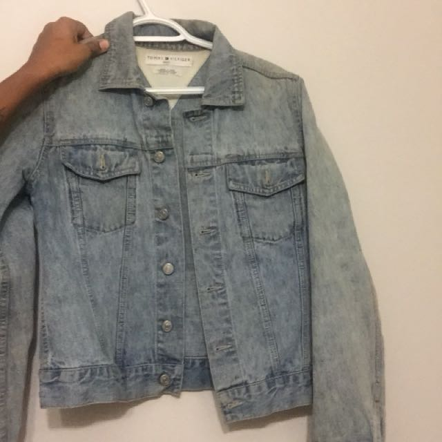 Vintage Denim Tommy Hilfiger Jacket