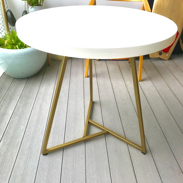 West Elm Cafe Table Furniture Tables Chairs On Carousell - West elm cafe table