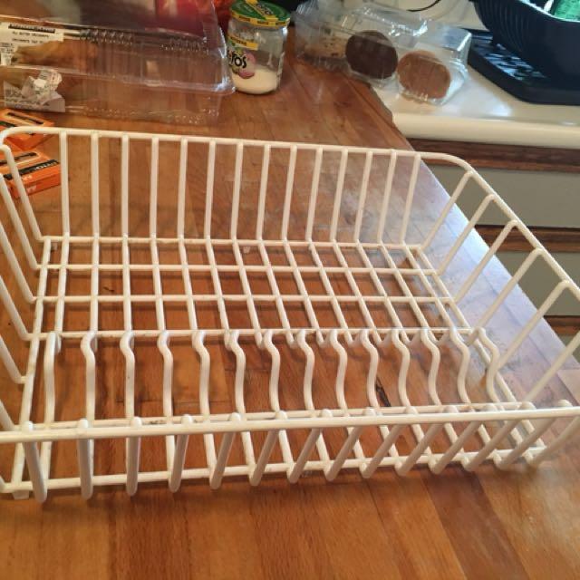 White Dish Rack