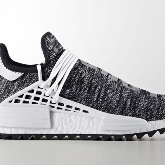 564dea0e81336 WTS Adidas Original human race x Pharrell William nmd trail Oreo ...
