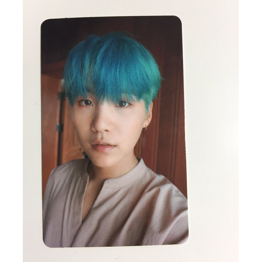 WTS bts Yoongi / Suga Love Yourself pc