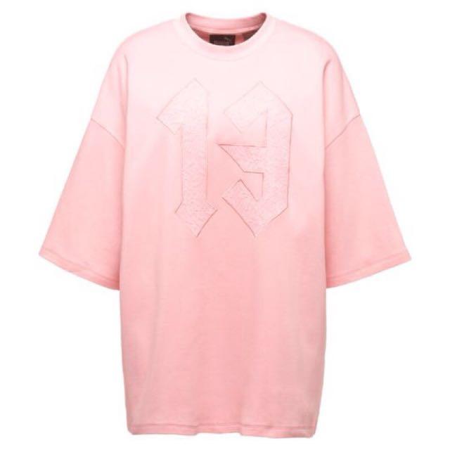 (粉XS 現貨)‼️限時優惠‼️FENTY PUMA OVERSIZED CREW NECK T-SHIRT 上衣