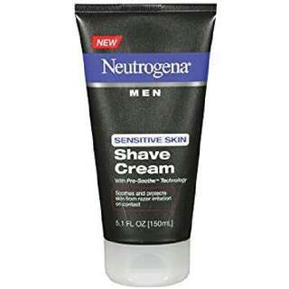 Neutrogena Men Shave Cream