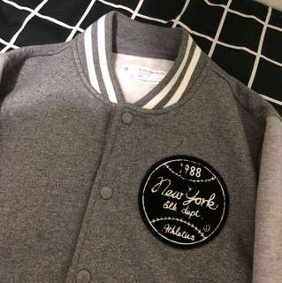 BlackChocolate 灰色外套